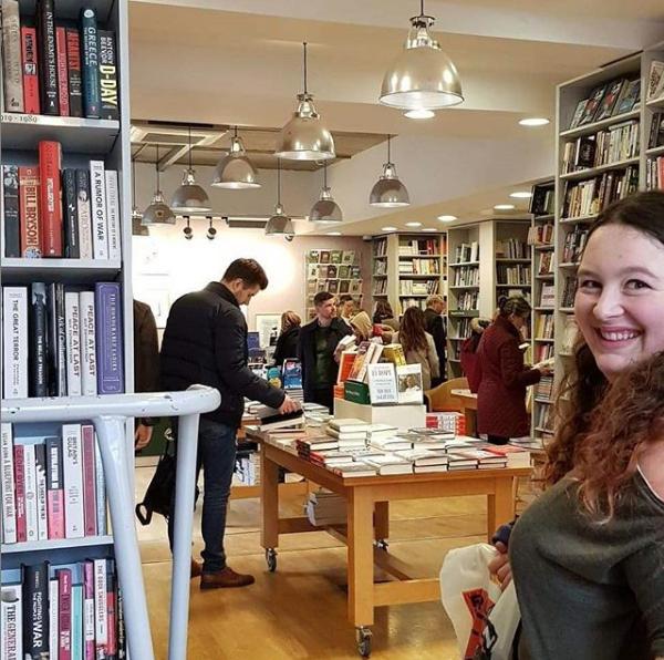 Kathryn at London Book Crawl