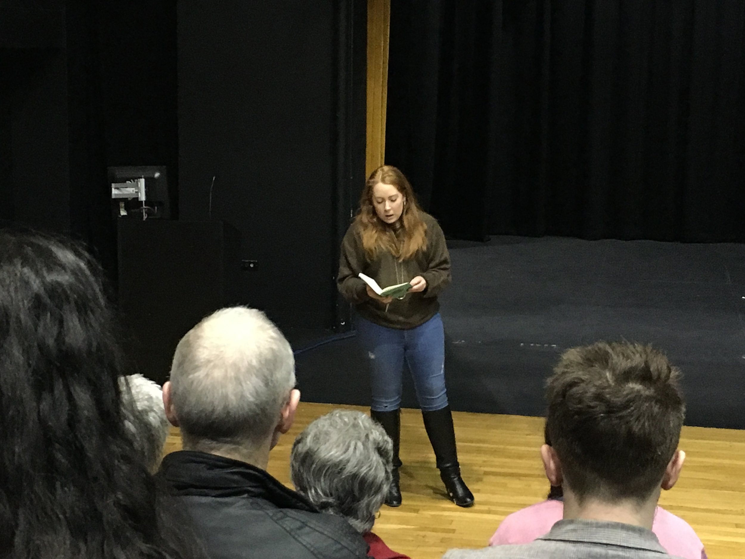 Sophie welcomed our guests and writers to the launch event, held at Loughborough University.