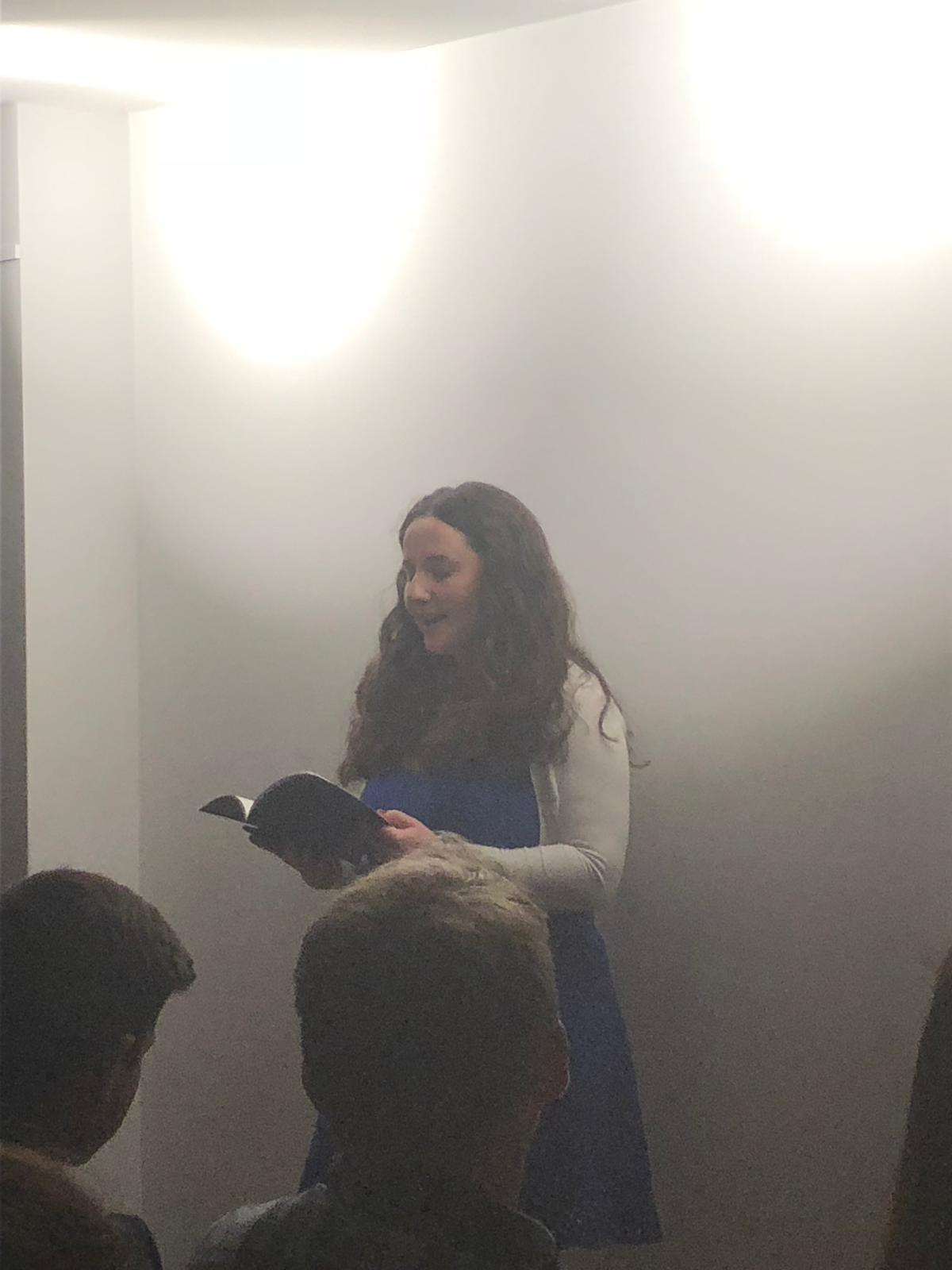 For a lot of our guests, this was their first poetry reading and the rousing applause at the end suggested they'll be heading back to us and  The Poetry Cafe  for more!