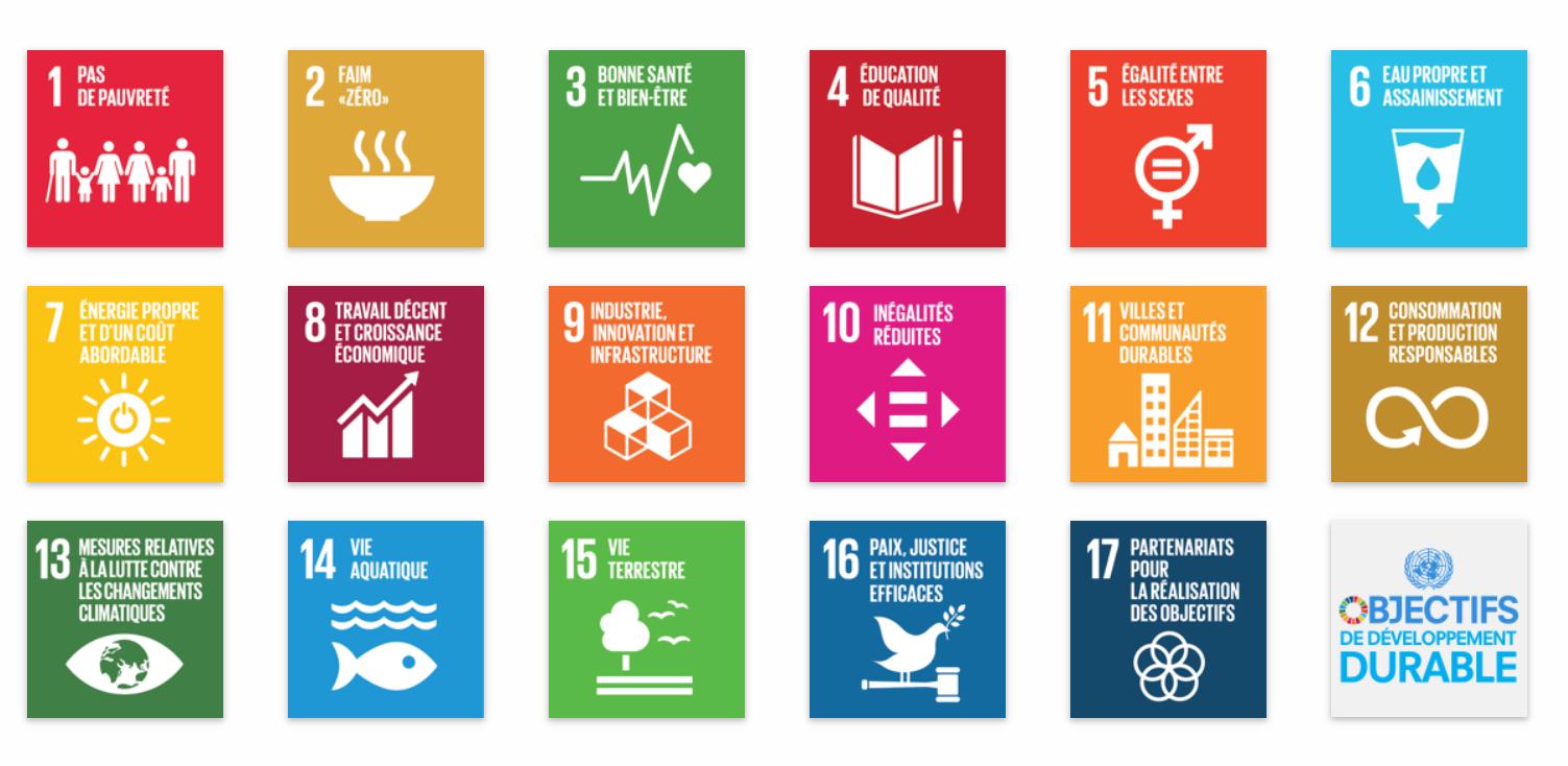 Les objectifs du développement durable  - du PNUD