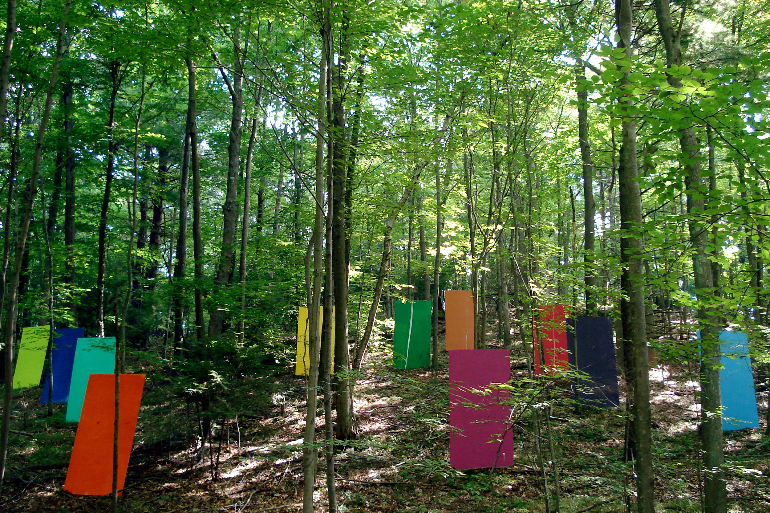 Color Installation, Albers Foundation, CT USA 2007
