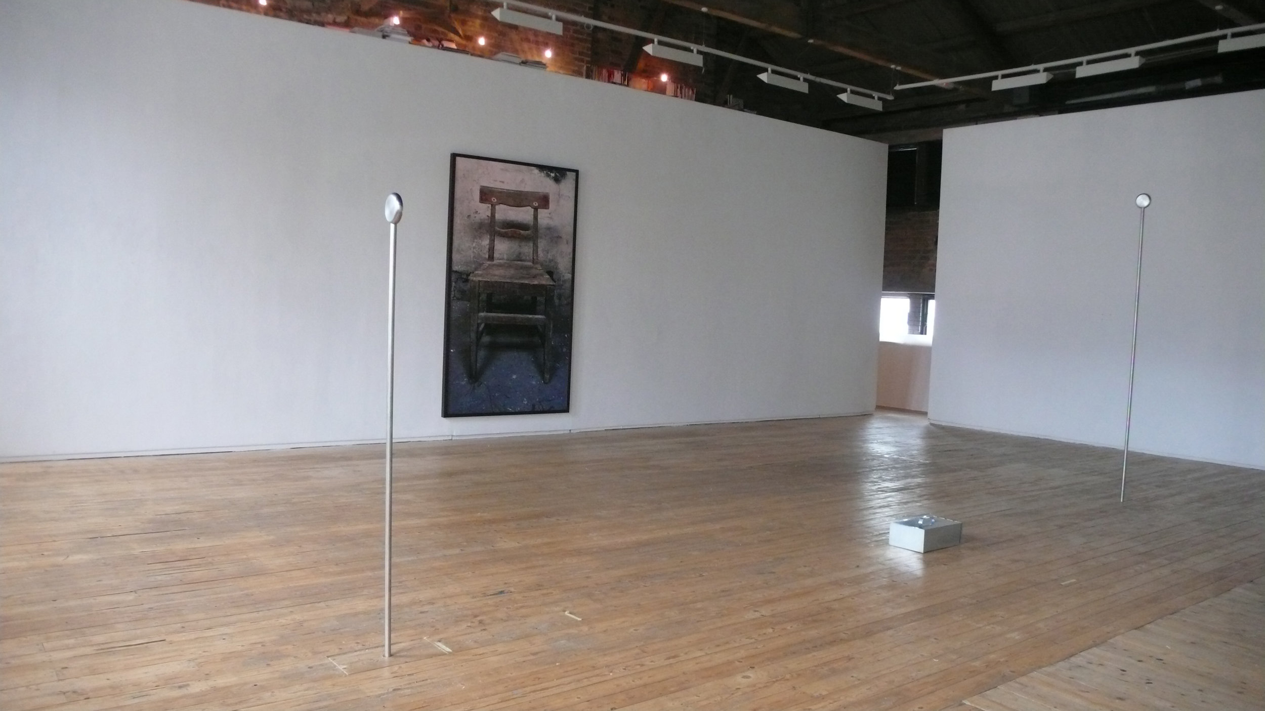 Installation view, Green On Red Gallery, 2014