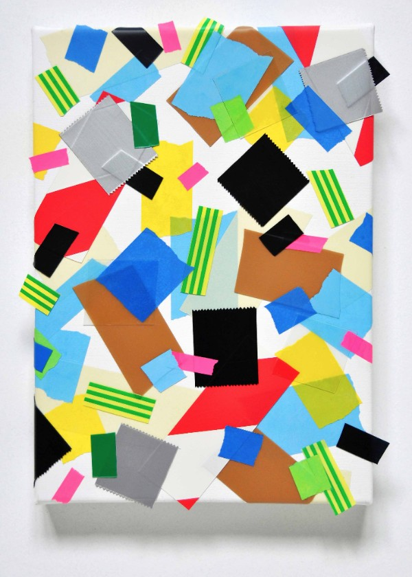 Caroline McCarthy  I Could Burst   (2016) Acrylicon canvas, 25x 35cm