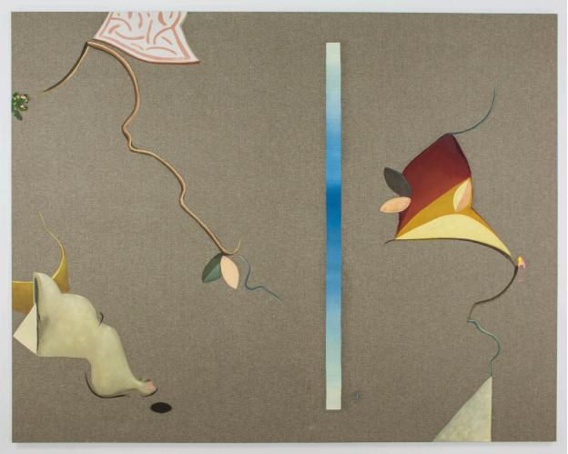 Reverie  (2017), oil on canvas, 50 x 40 cm