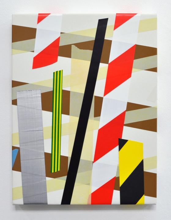Caroline McCarthy, 'Lollipops and Roses', (2013) Acrylic paint on canvas, 30 x 40 x 4cm