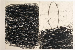 Untitled (6), 2003 Etching100 58.5 x 69 cm  Edition of 20