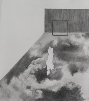 Untitled (2009) Pencil on paper, 297 x 265mm
