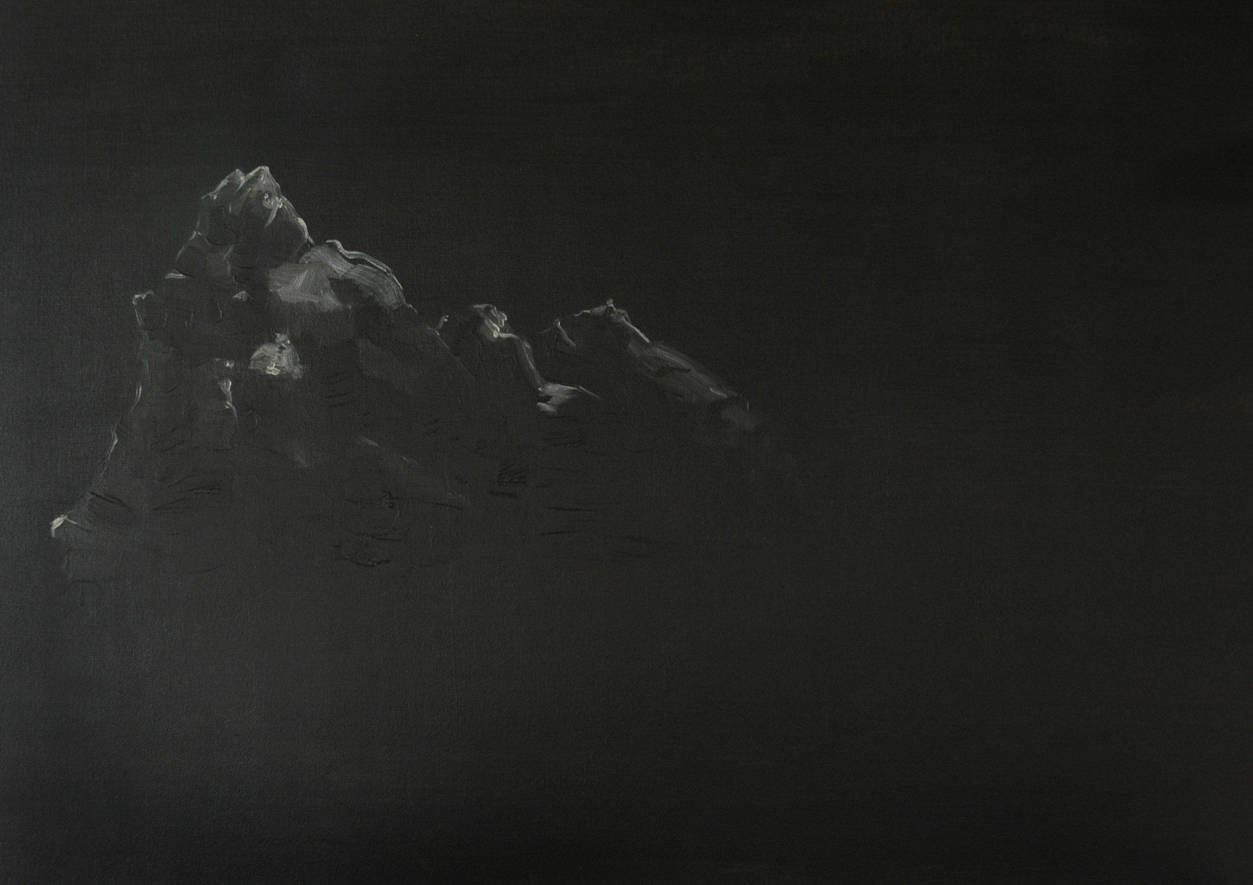 Damien Flood, Summit, 2009, Oil on canvas, 71 x 91 cm