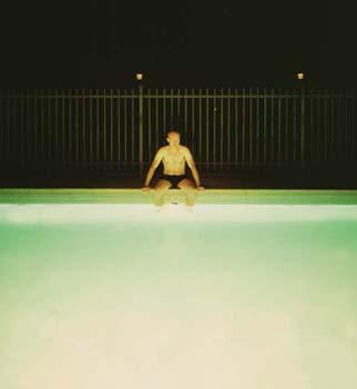 Phoenix to Vegas VII (Pool Boy) (2002) Lambda print 101.6 x 76.2 cm