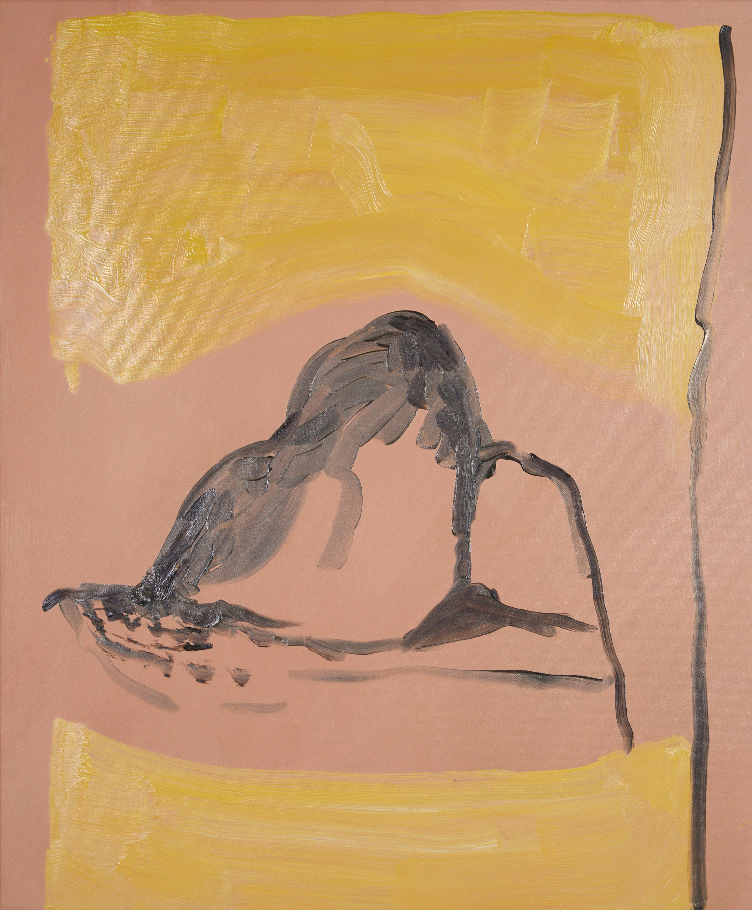 Bather, 2013, Oil on canvas, 60 x 50 cm