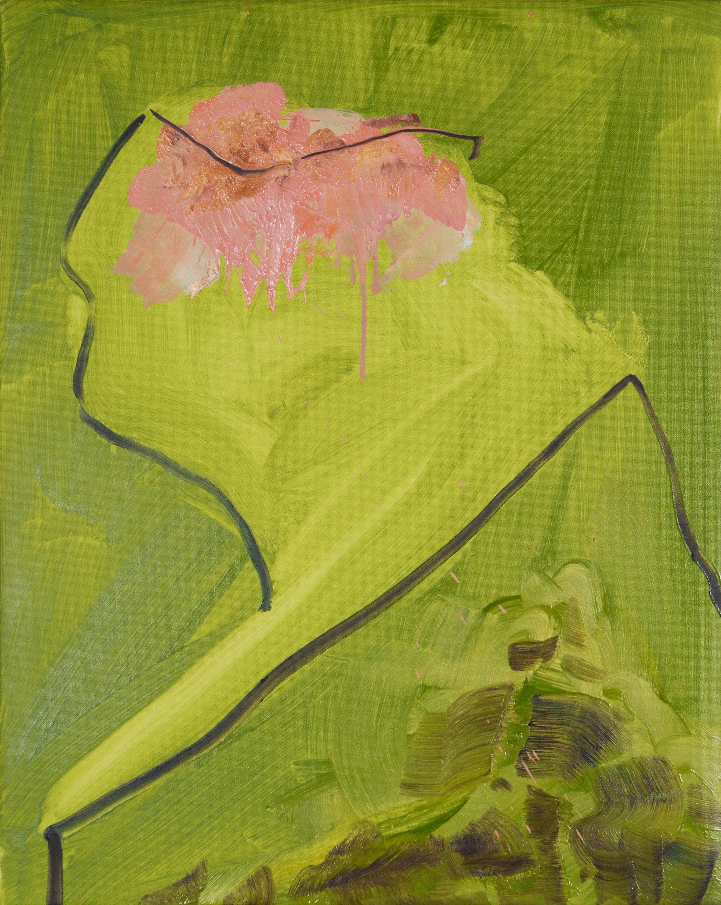 Bust, 2013, Oil on canvas, 50 x 40 cm