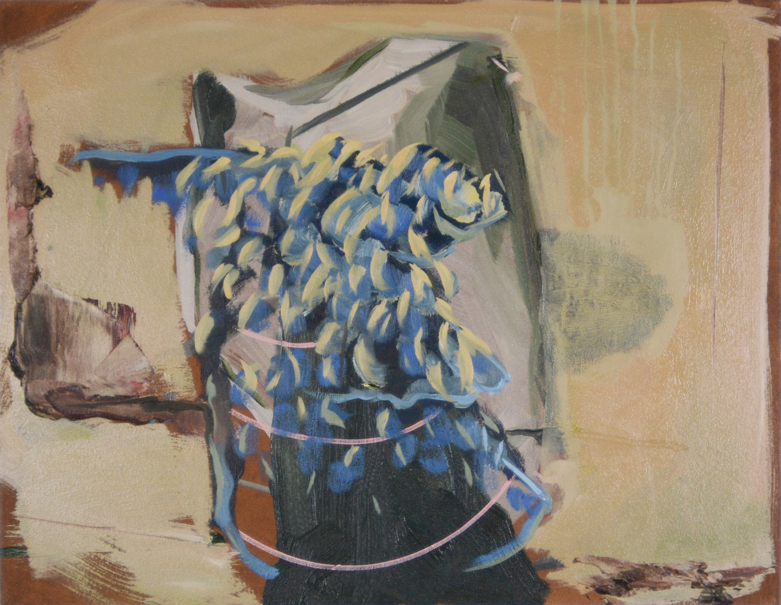 Armature, 2013, Oil on canva, 30 x 40 cm