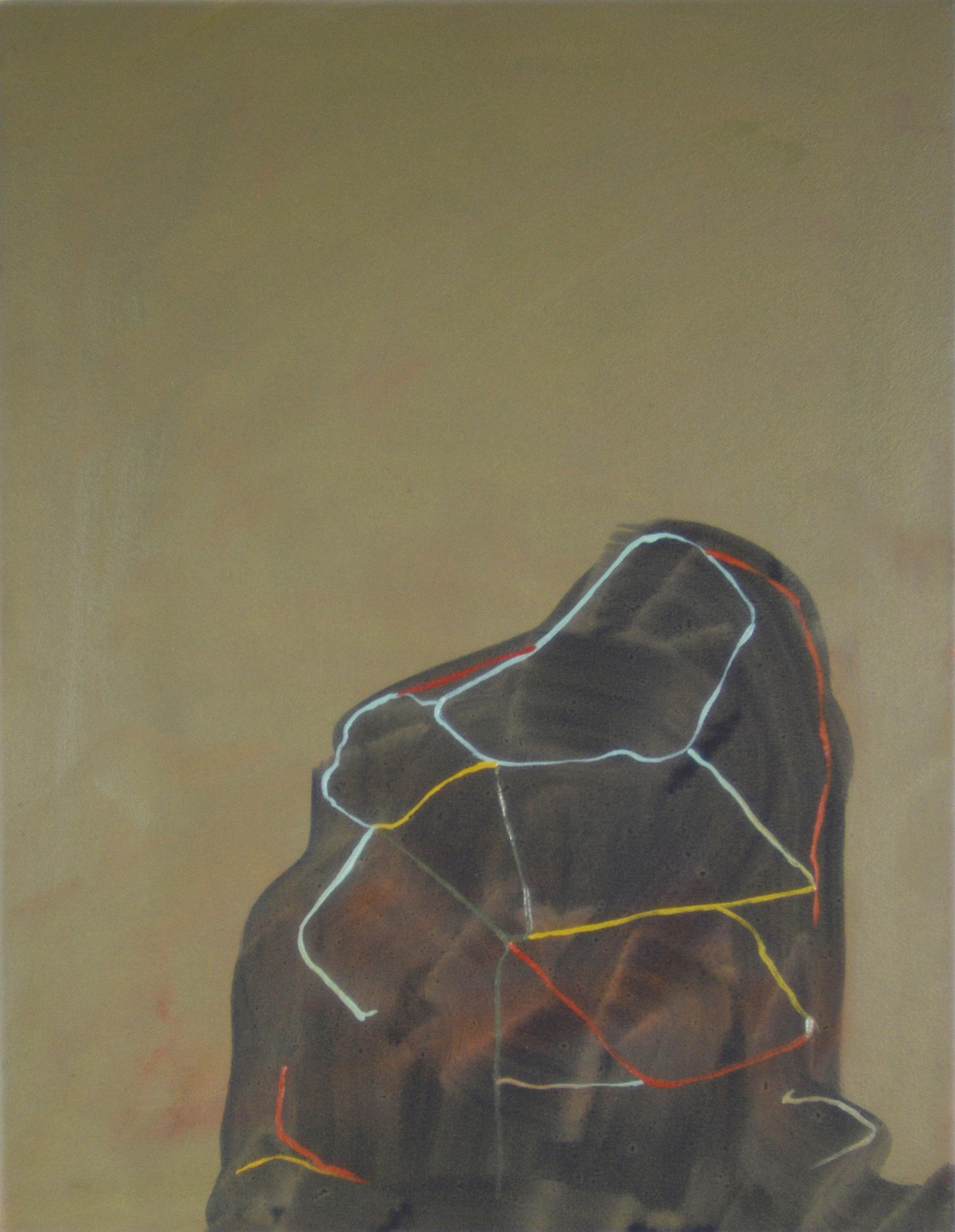 String, 2013, Oil on canvas, 40 x 30 cm