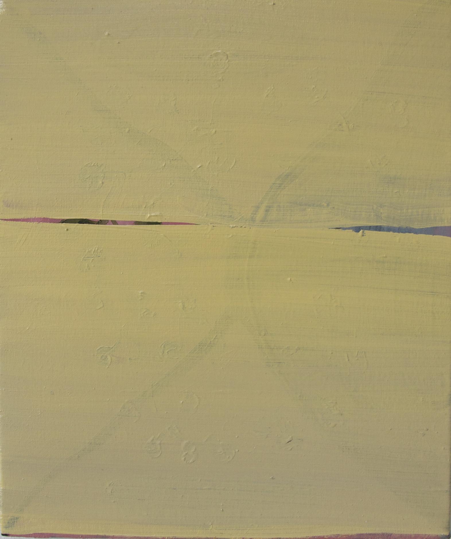 Tear, 2010, Oil on cotton, 25 x 30 cm