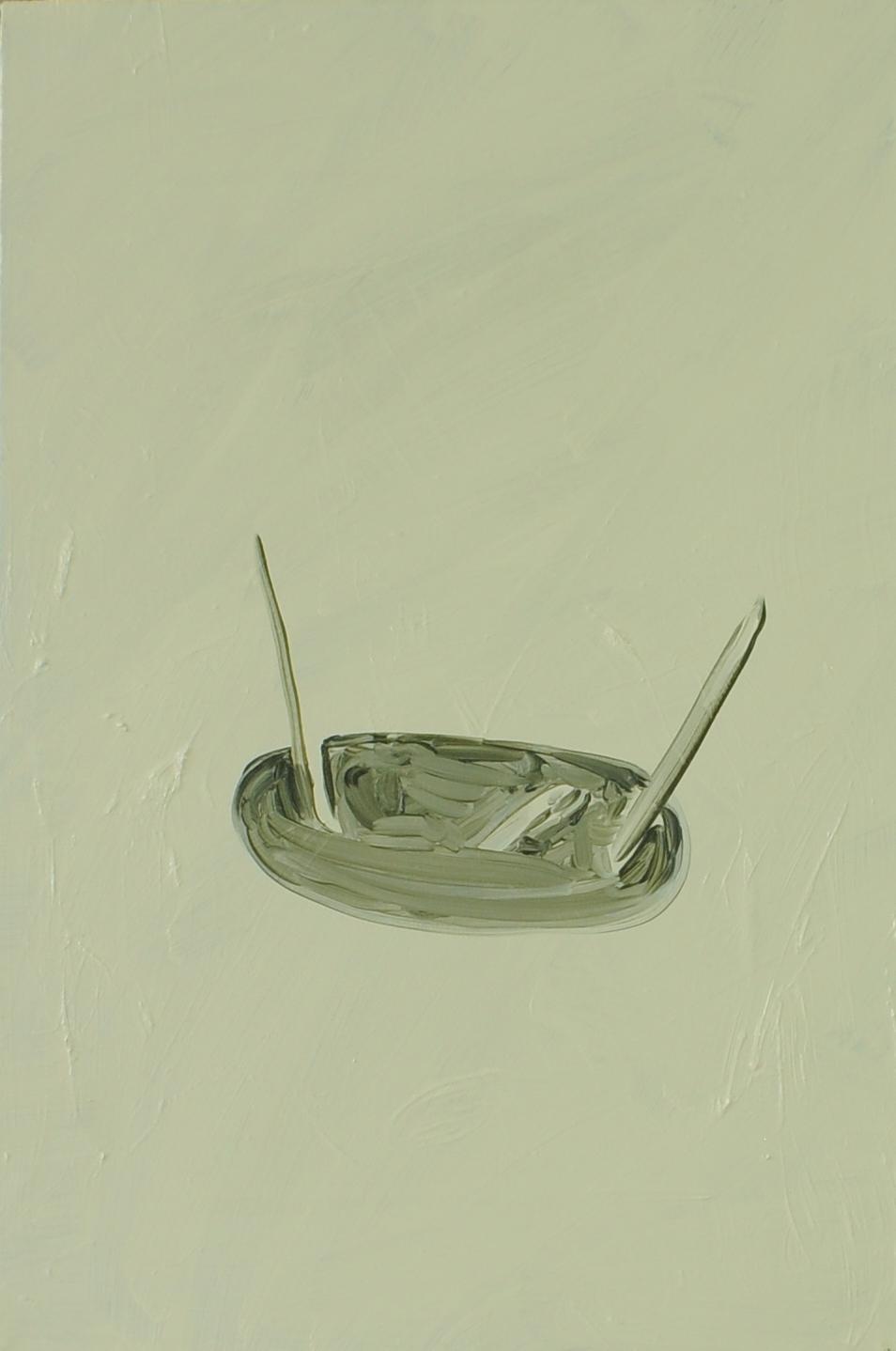Antenna, 2011, Oil on cotton, 40 x 60 cm