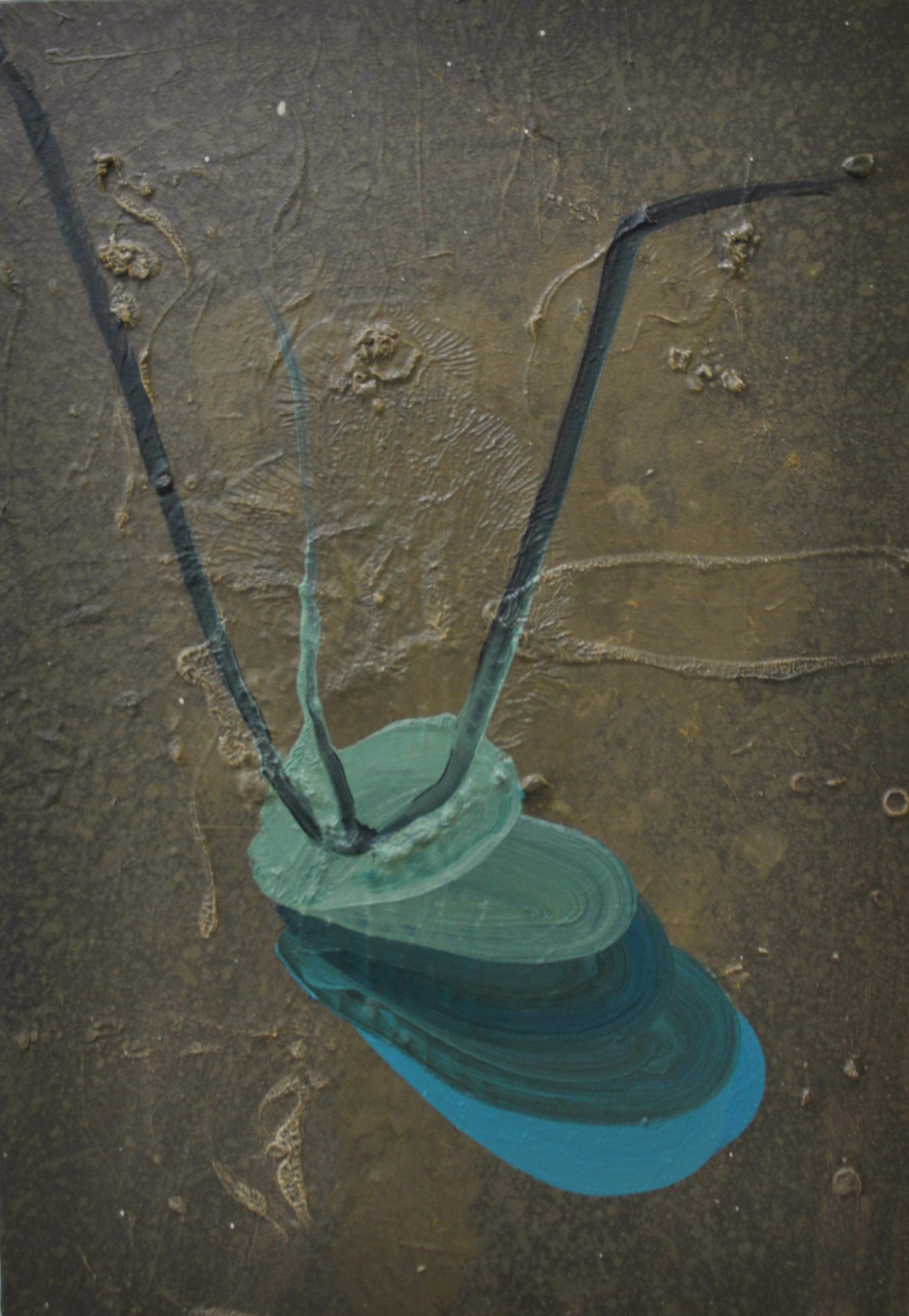 Plummet, 2011, Oil on canvas, 51 x 36 cm