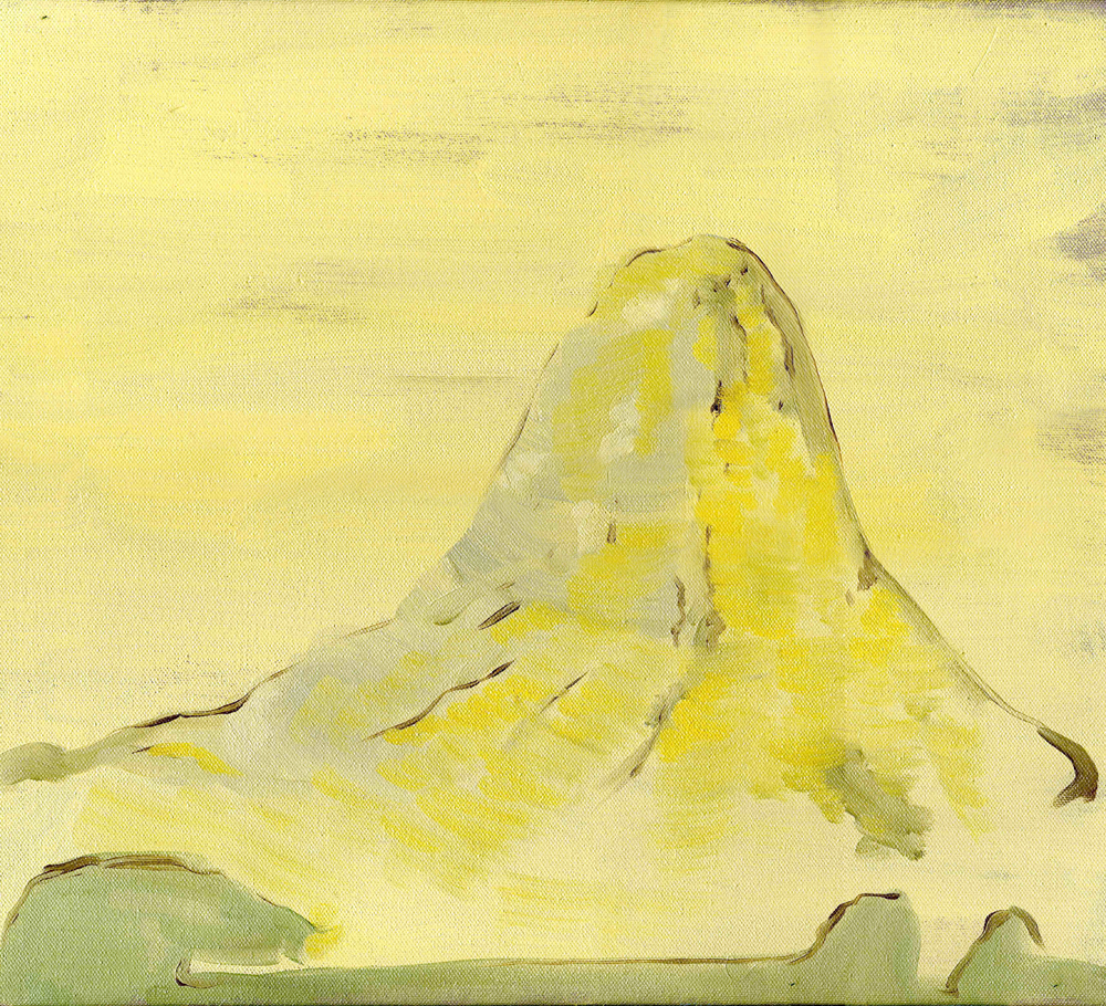Box Mountain, 2009, Oil on canvas, 35 x 45 cm