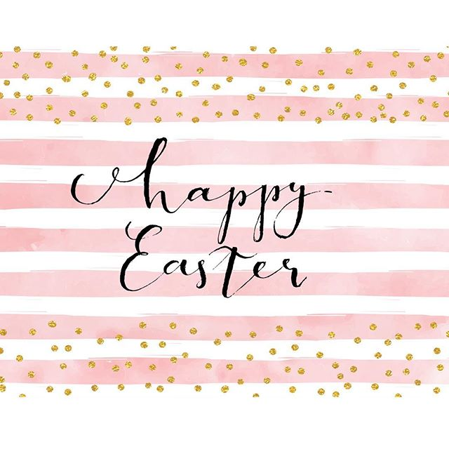 We hope you all have a Very Happy Easter!!