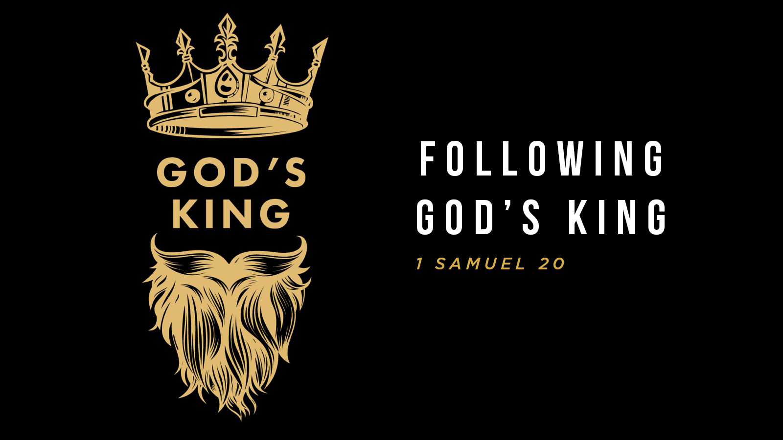 Following God's King