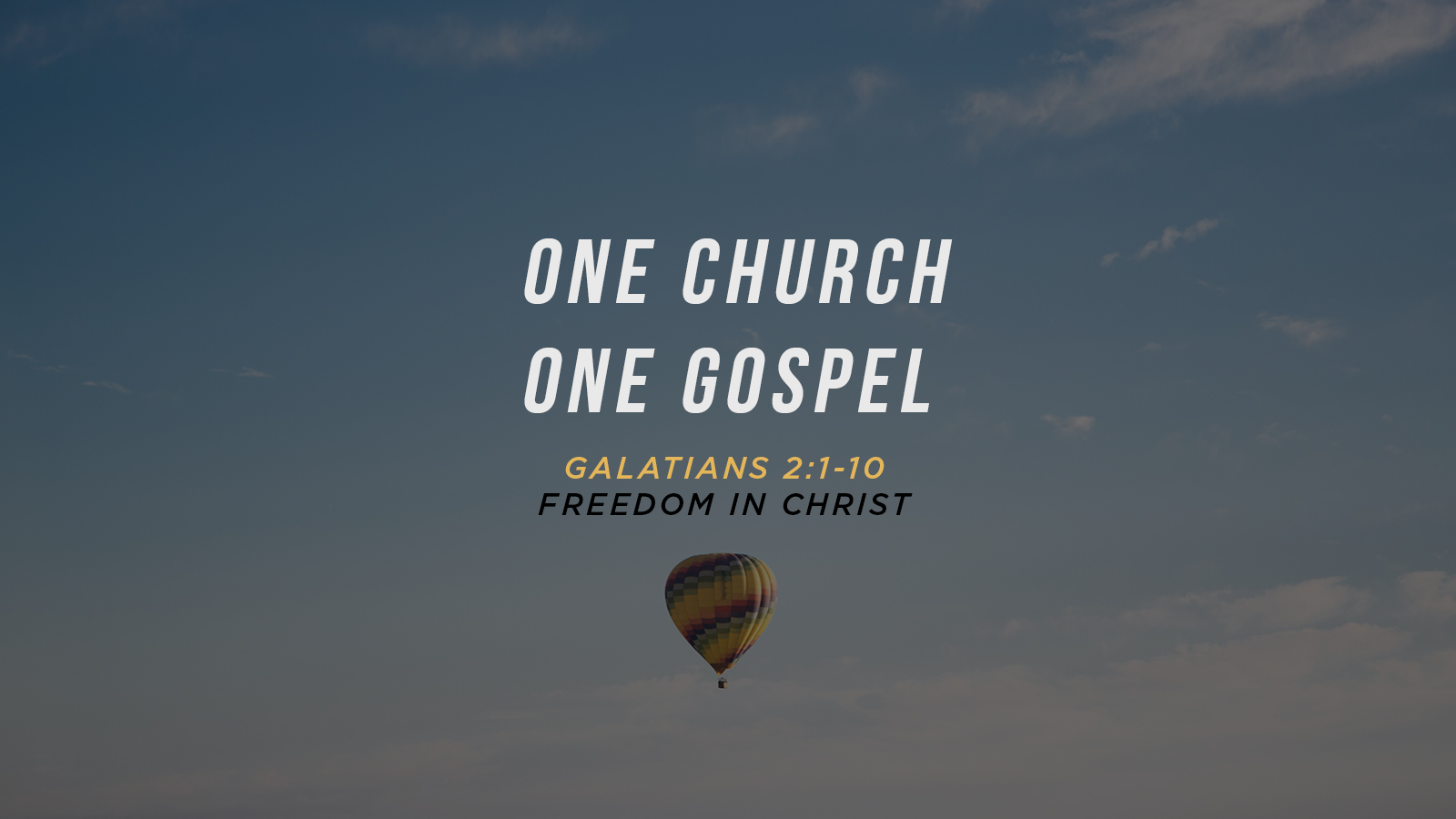 One Church One Gospel