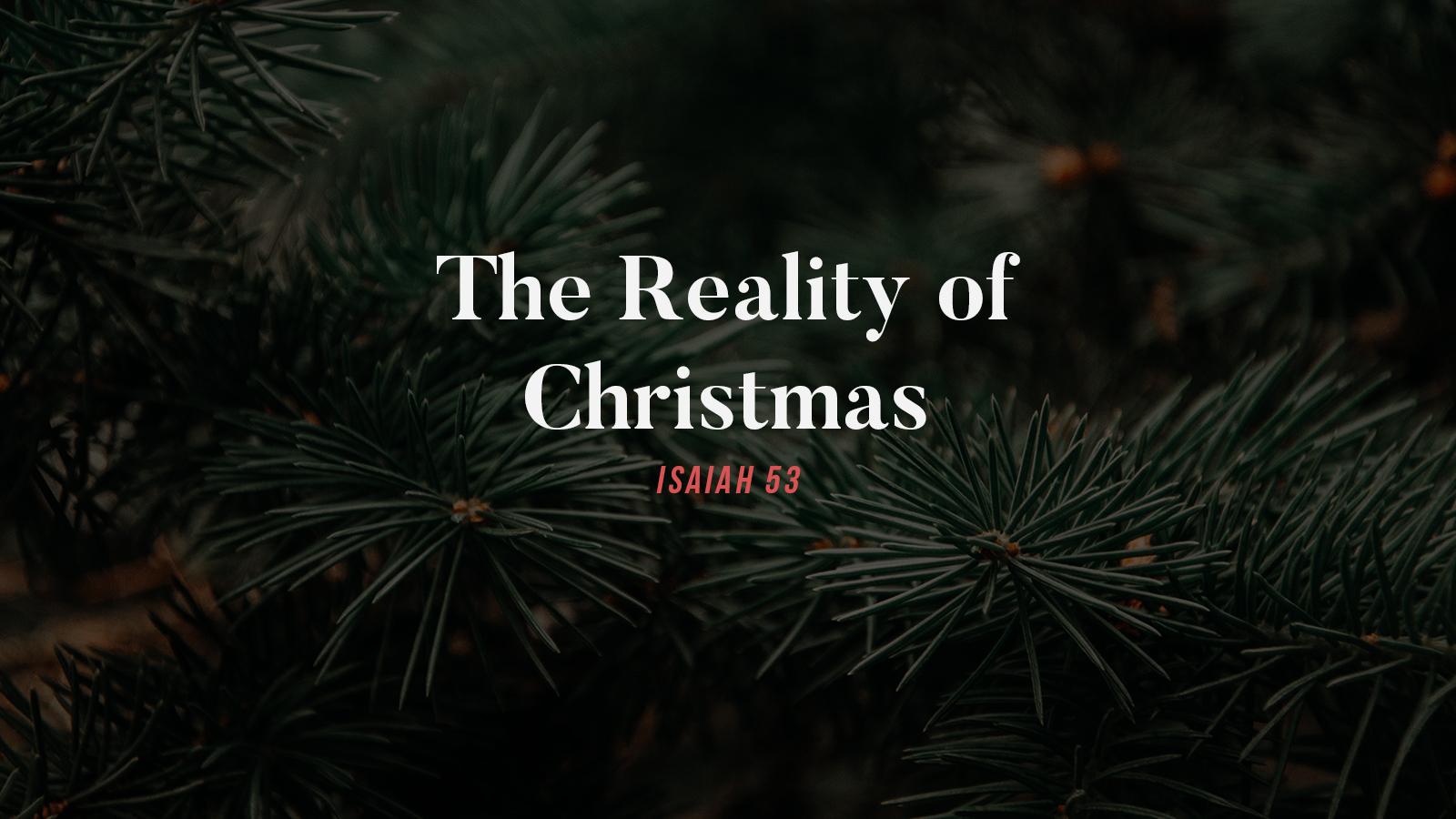 The Reality of Christmas.jpg