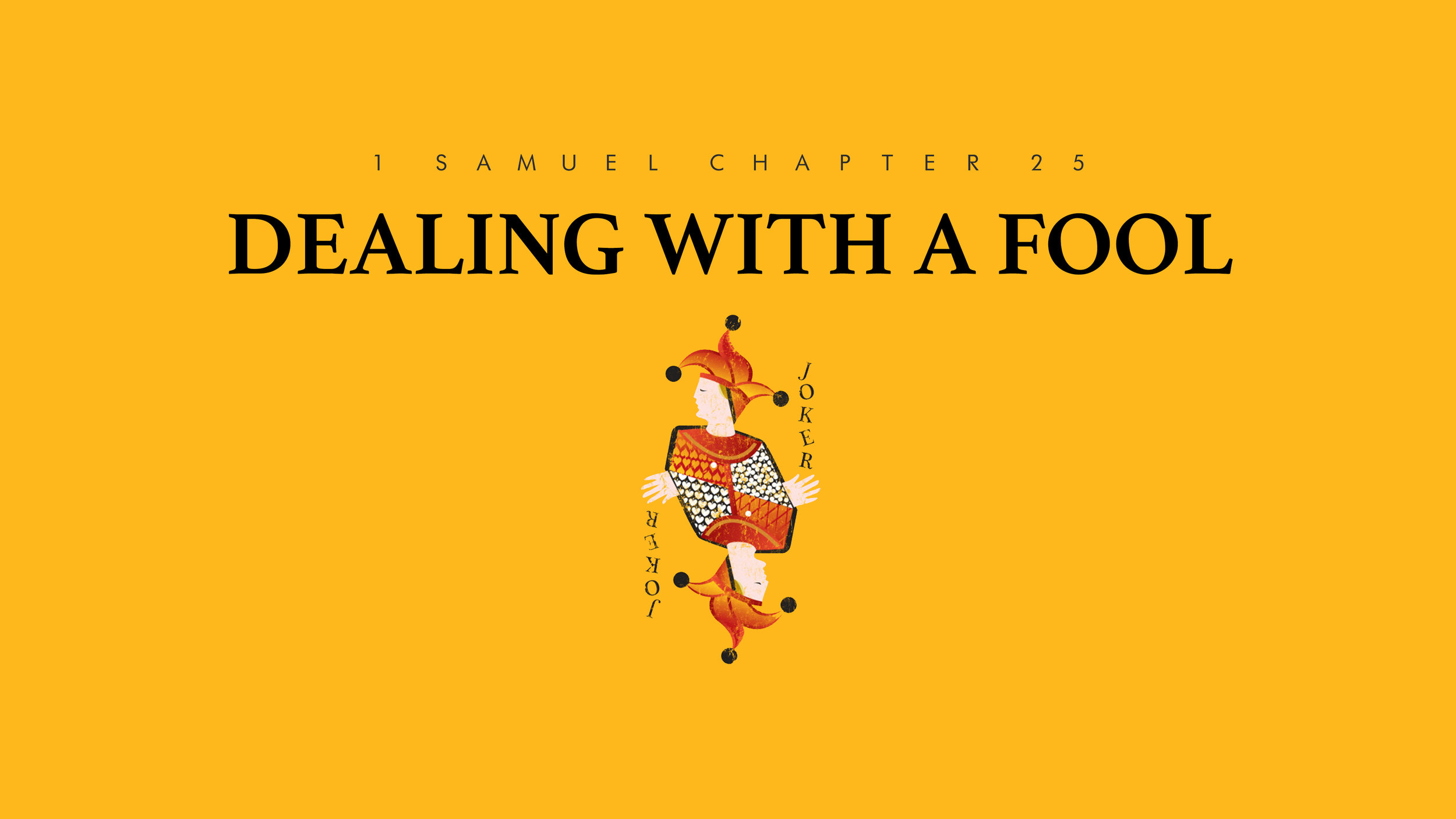 Dealing With a Fool