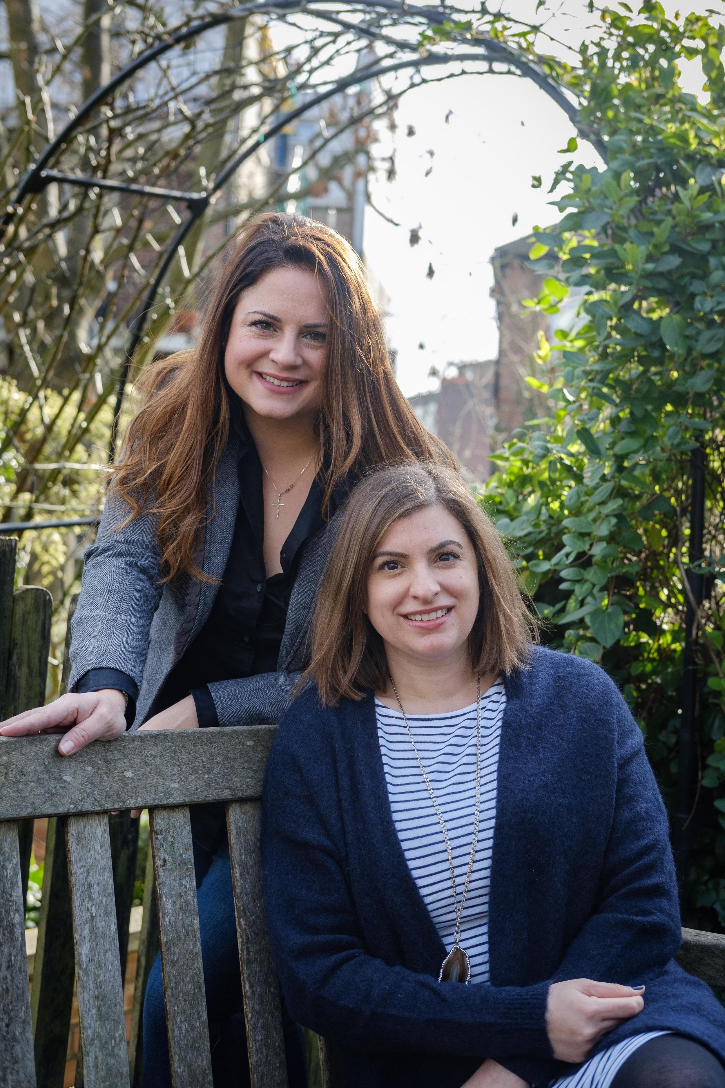 Dahlia and Elena de startup lab