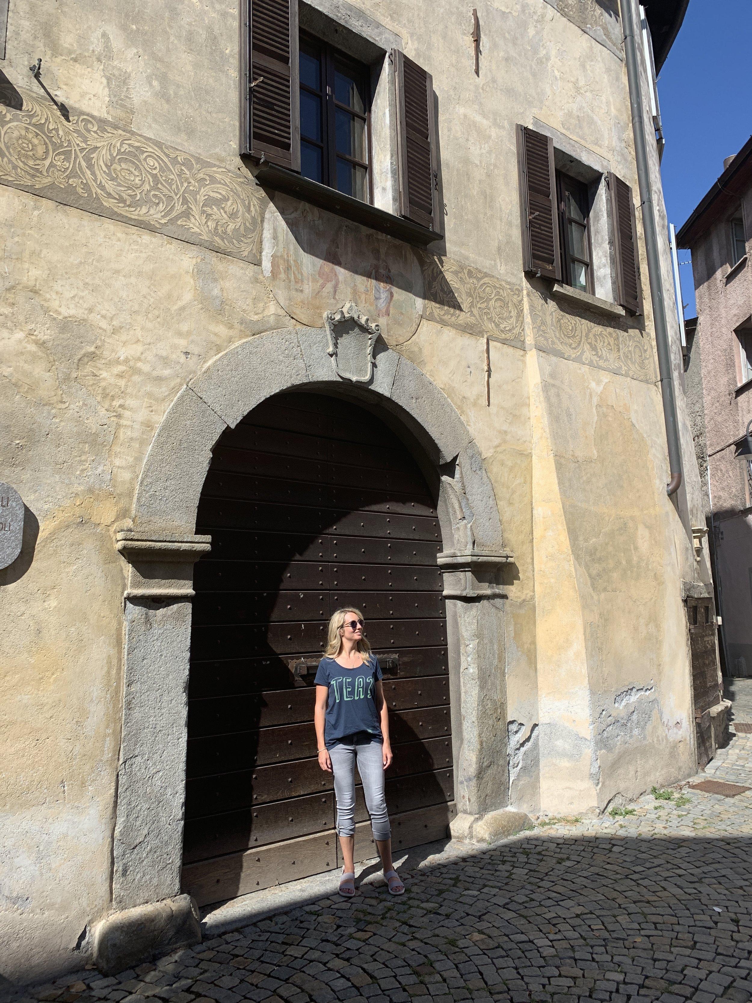 Exploring Tirano, Italy