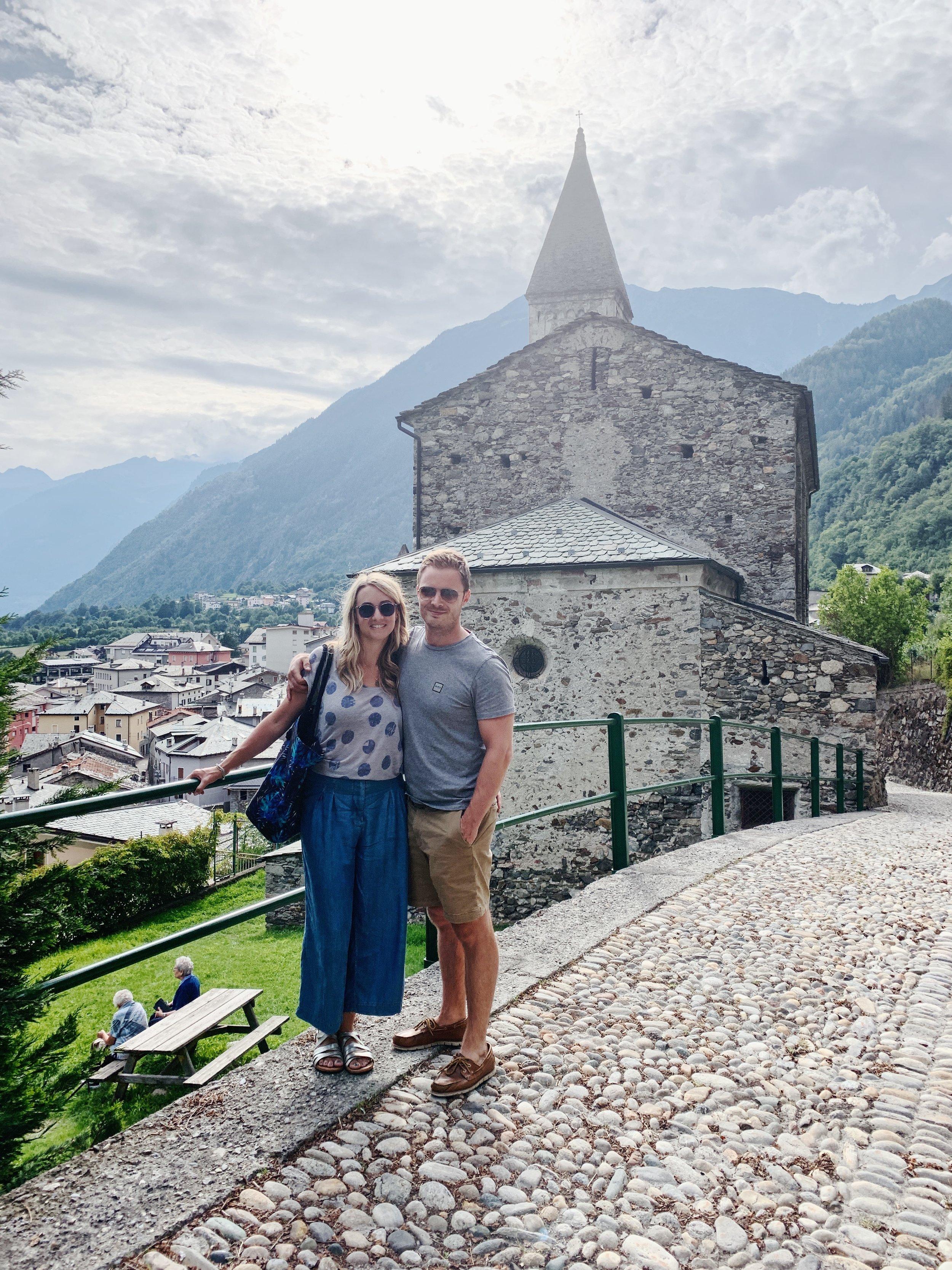 At Sondalo, Italy