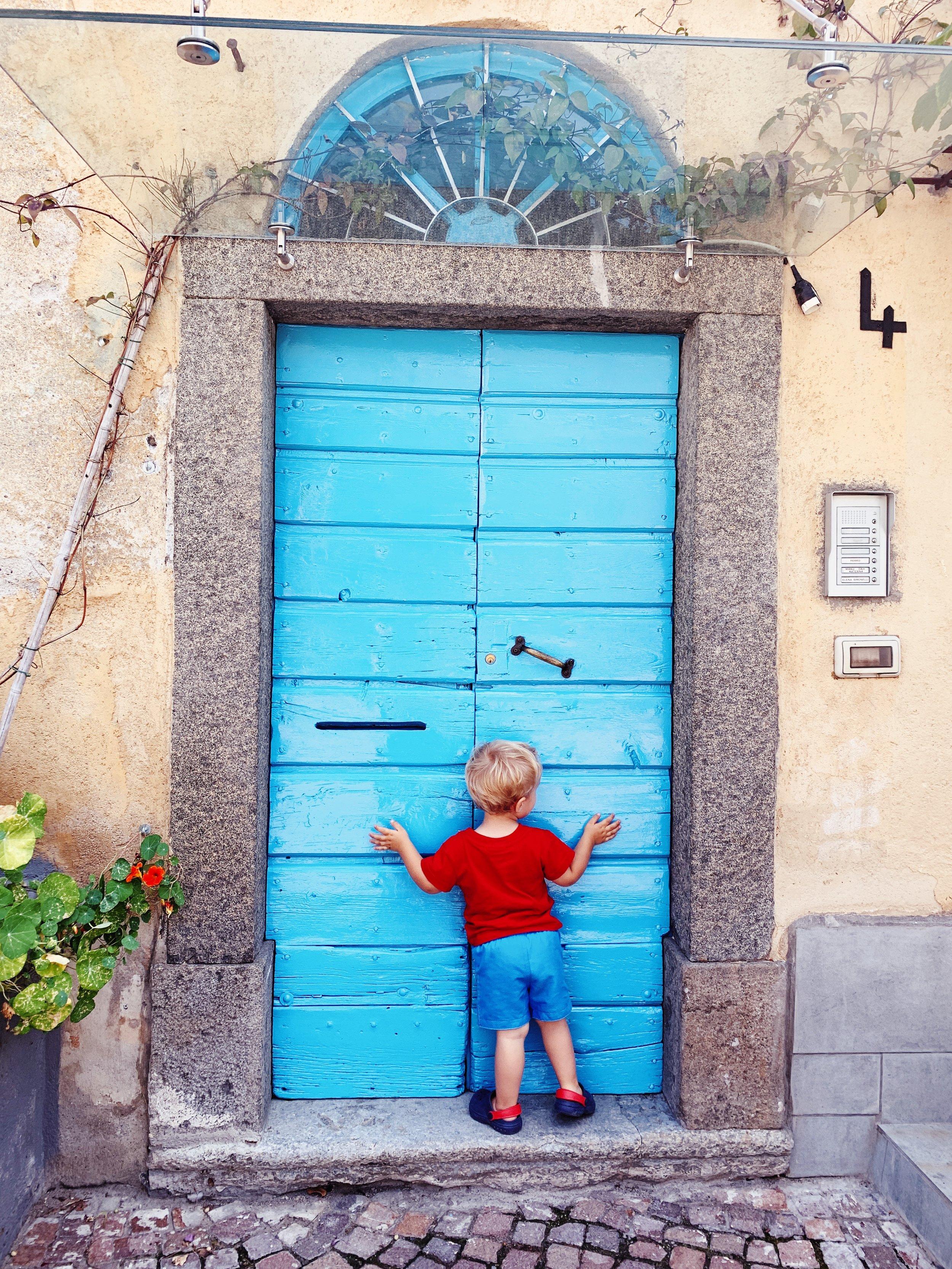 Finding beautiful doors