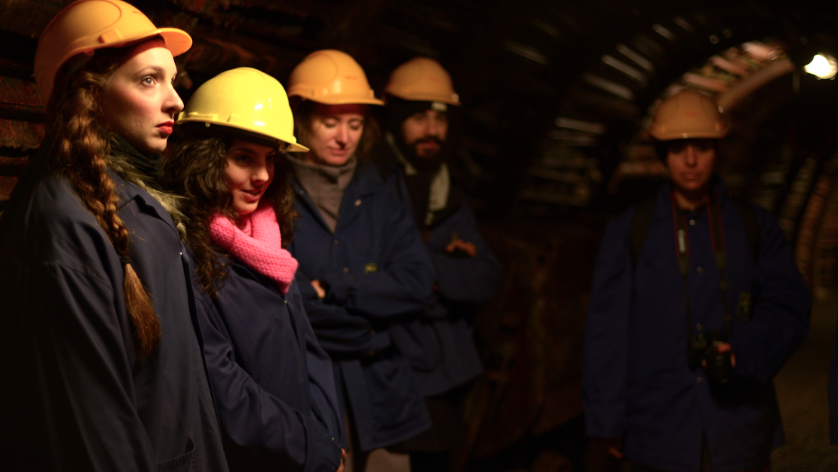 The project kicked of with a visit to Blegny Mine. images are by Fabian de Kloe