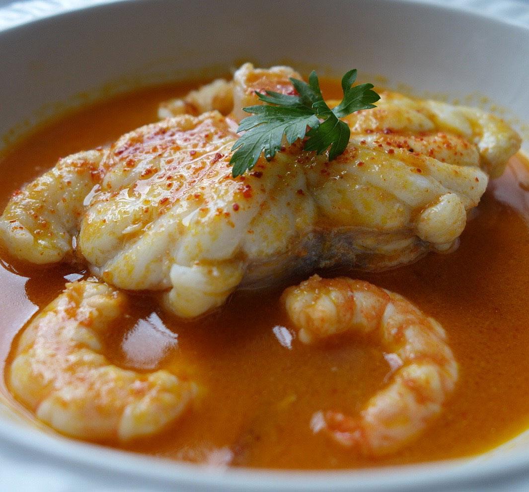 Brazilian Moqueca a seafood stew