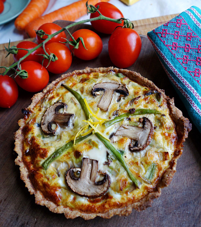 gluten-free seasonal quiche