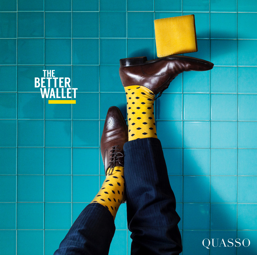 Quasso Print Ad 'The Better Wallet'