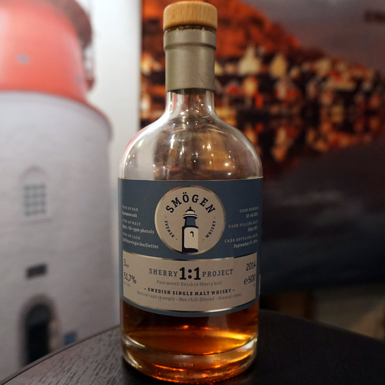 Nordic Whisky #19 - Smögen Sherry Project 1:1