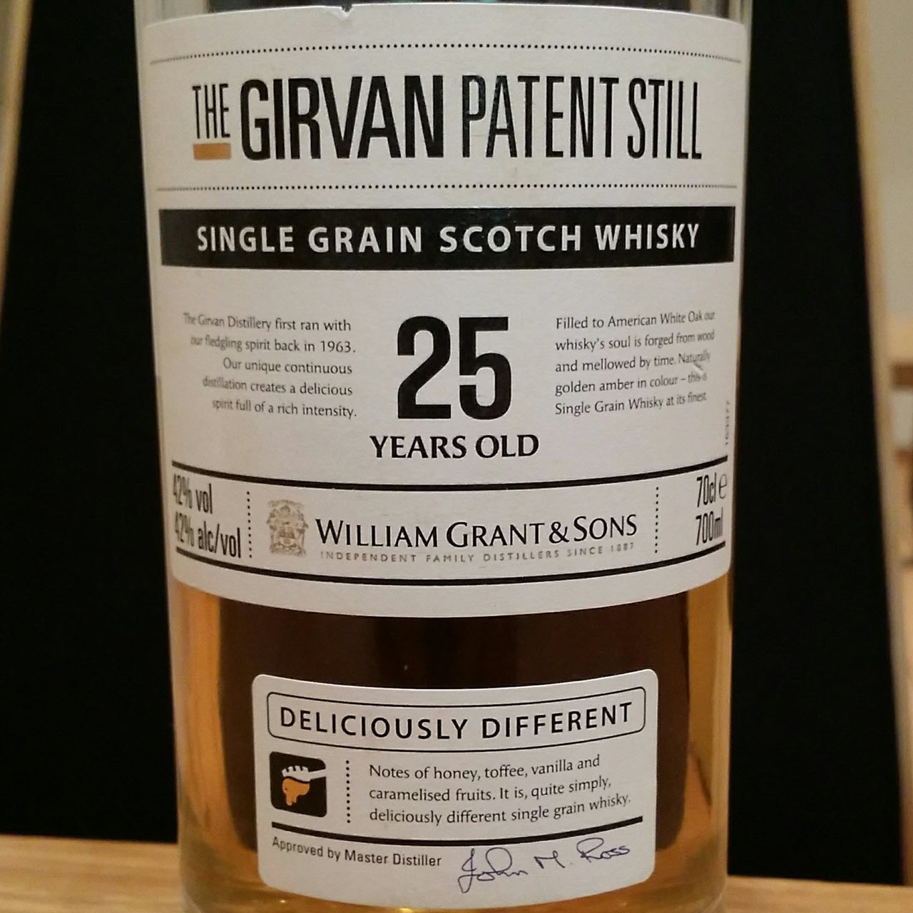 Girvan 25 YO The Girvan Patent Still