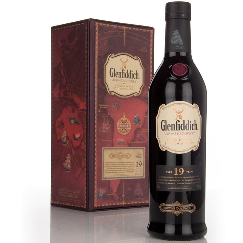 Glenfiddich 19 YO Age of Discovery Red Wine Cask Finish