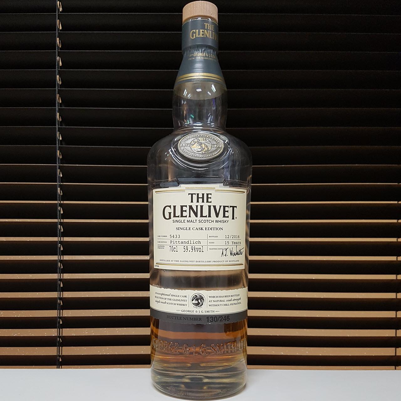The Glenlivet Pittandlich