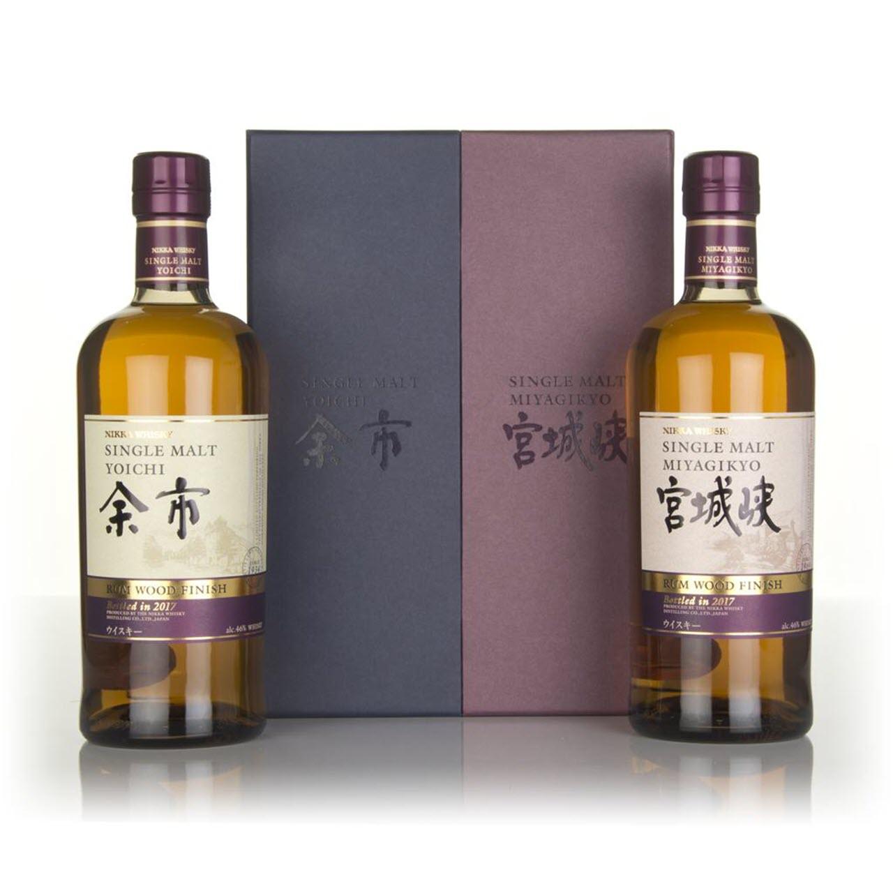Miyagikyo and Yoichi Rum Cask Finish 2017