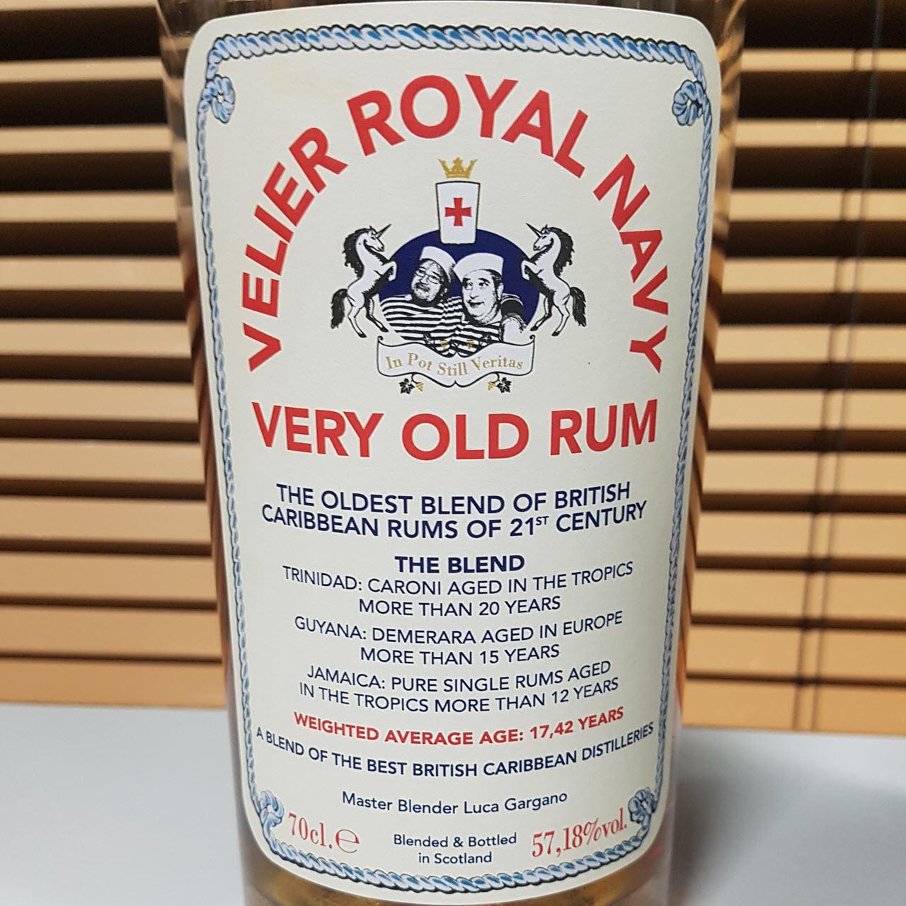 Velier Royal Navy Very Old Rum