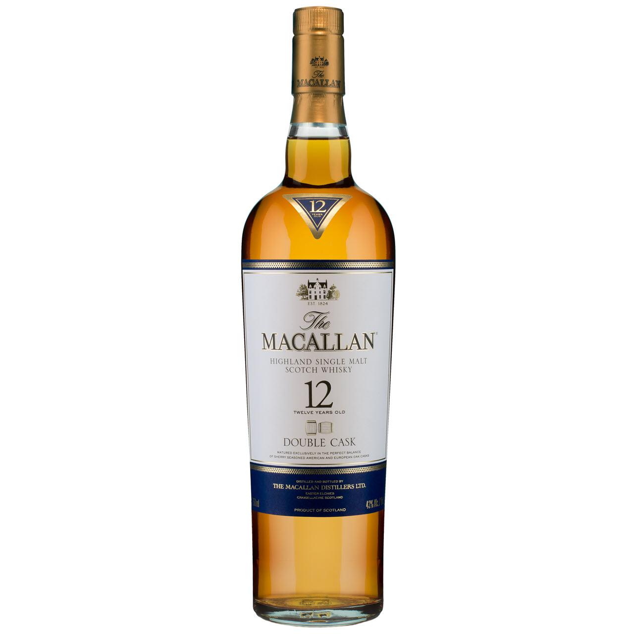 Macallan Double Cask 12 YO
