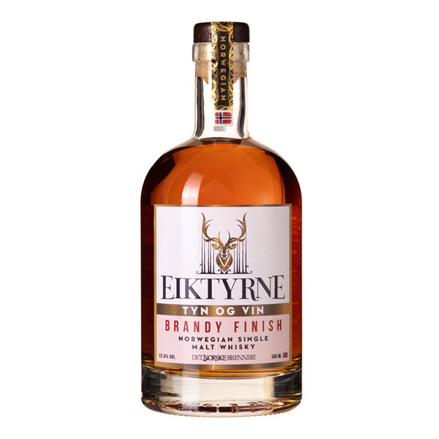 Nordic whisky #202 - Eiktyrne Tyn & Vin Brandy Finish