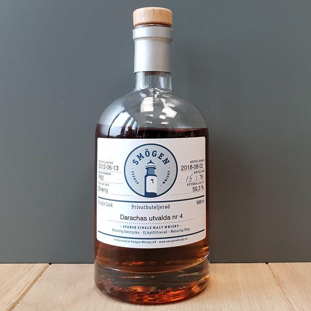 Nordic whisky #206 - Smögen 2012-P62 Darachas utvalde no 4