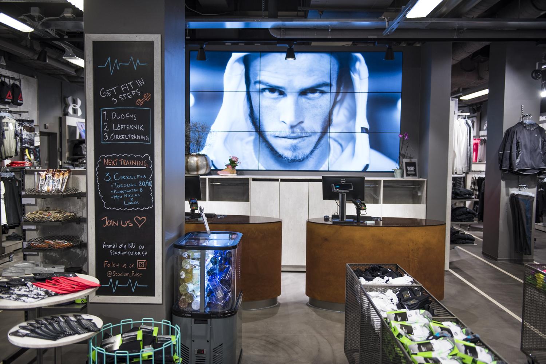 Stadium Pulse Retail Concept