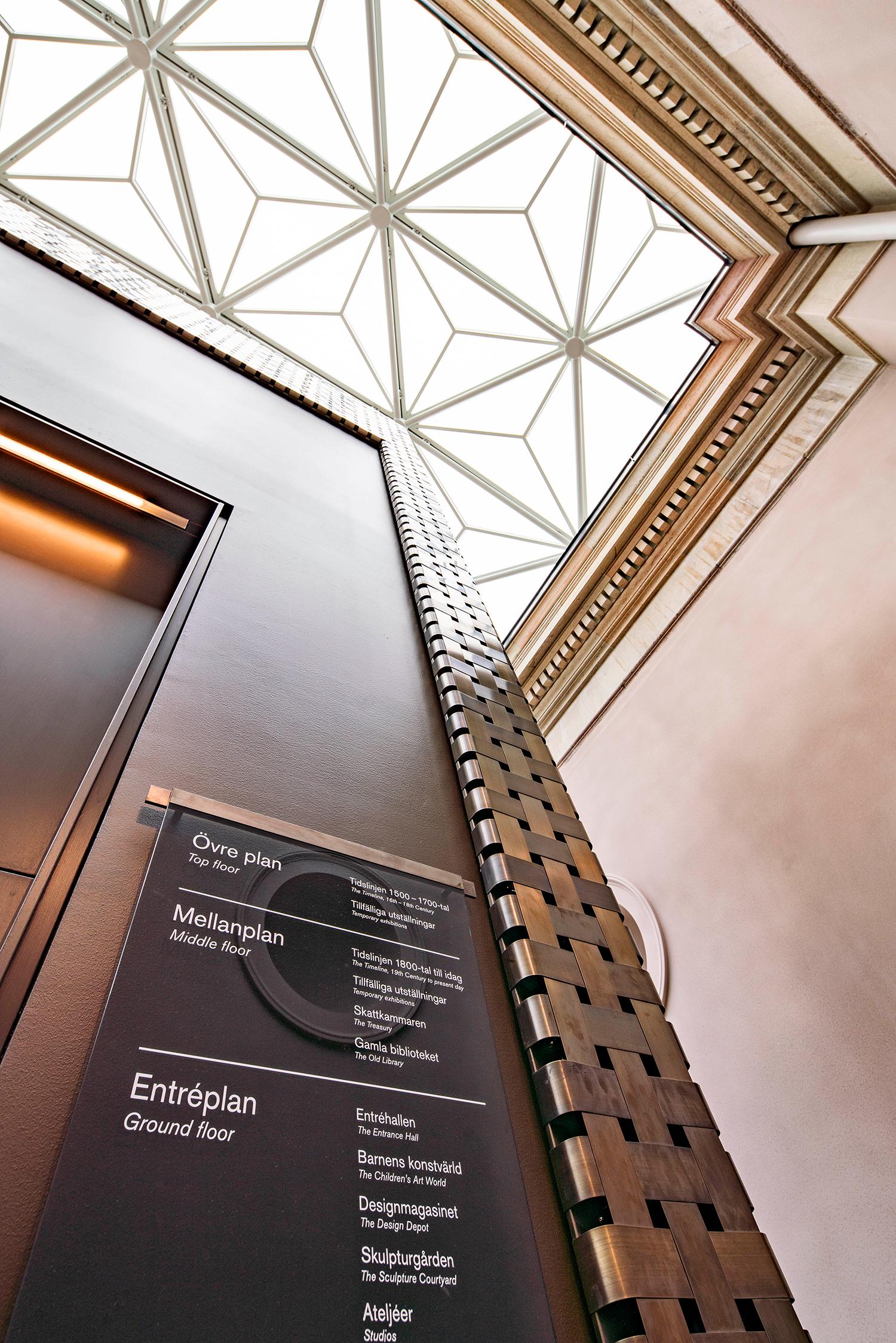 Nationalmuseum - Wayfinding concept