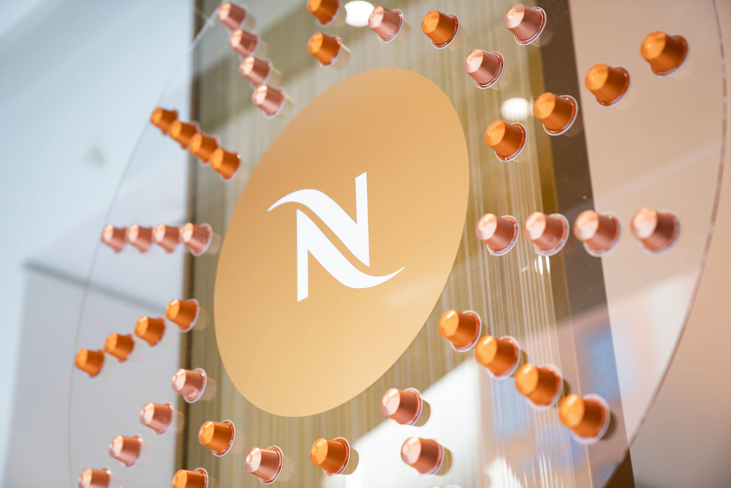 Nespresso - WIndow display