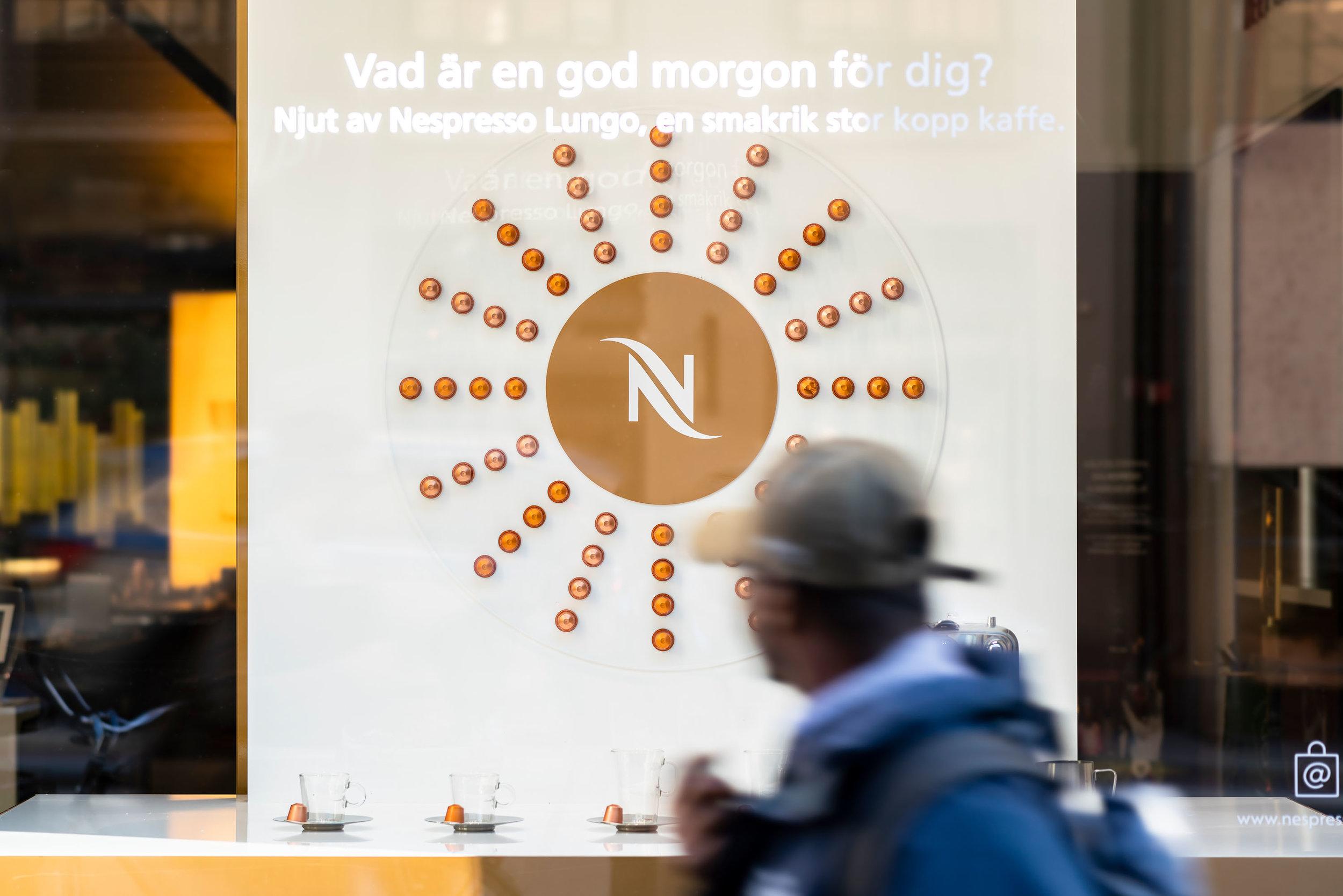 Nespresso Kungsgatan - Retail Activation