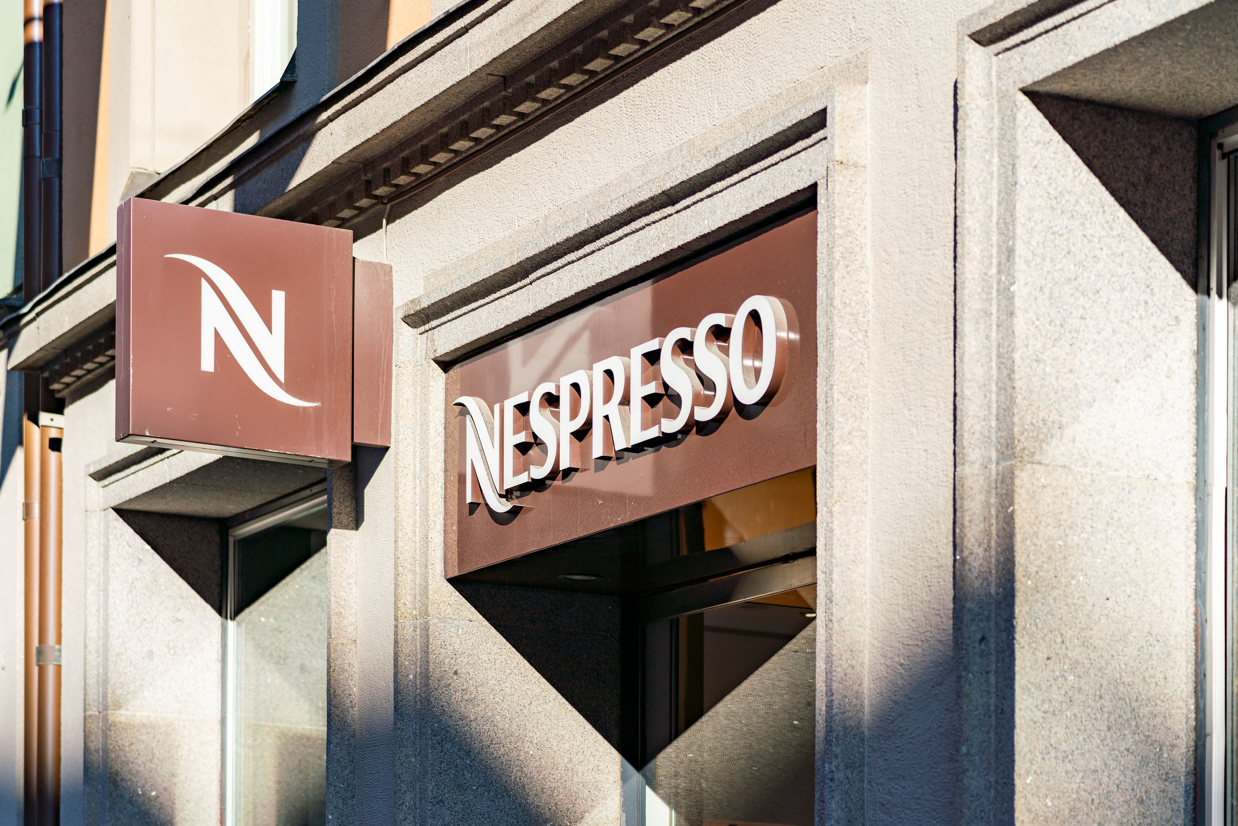 Nespresso Kungsgatan Branding