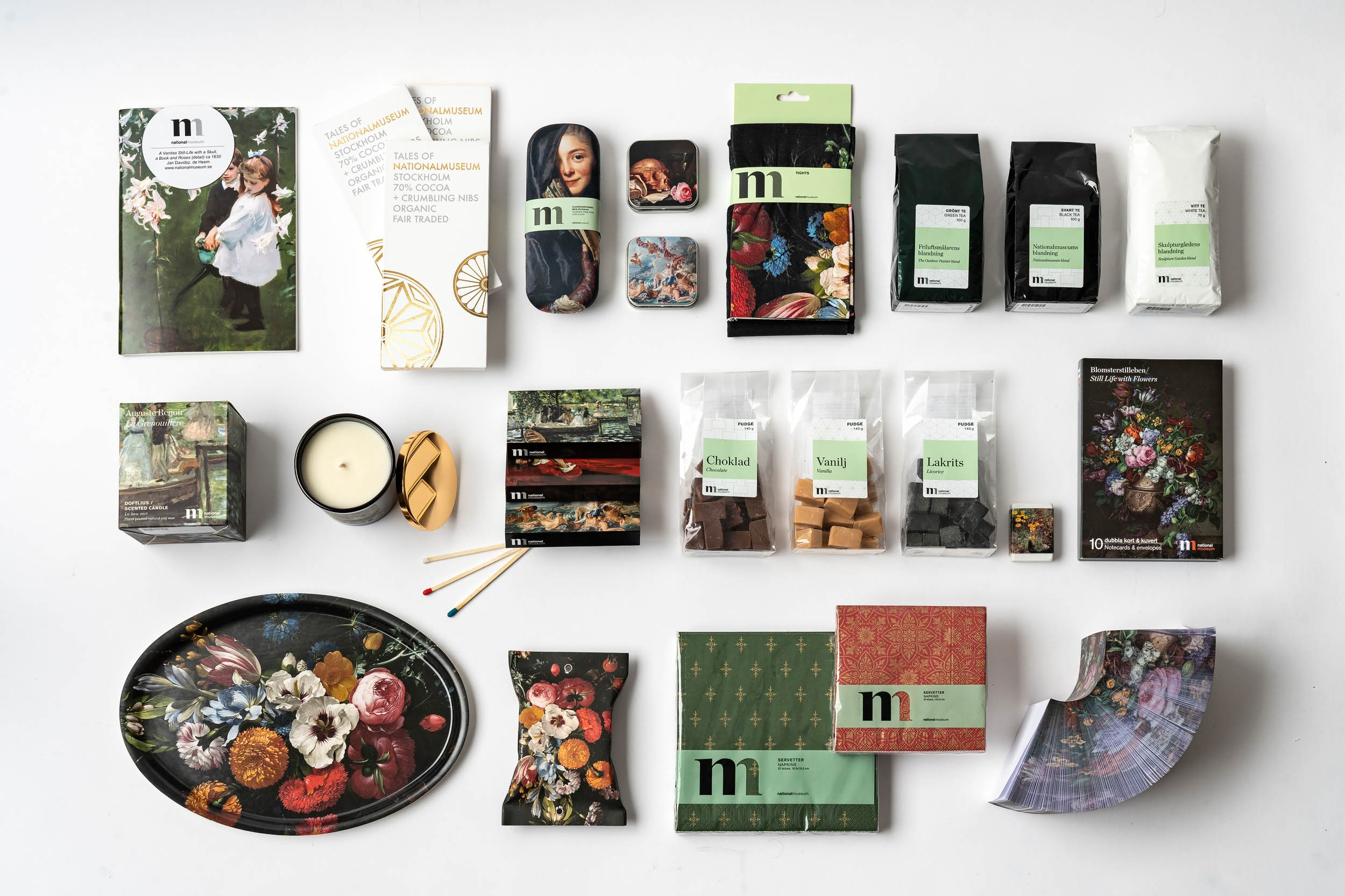 BRAND IDENTITY AND PACKAGING DESIGN - Based on brand identities we create the visual extension for products, clothing and packaging. It is crucial that the take home product truly represents the brand, and continues to inspire and educate the shopper beyond the purchase point. Our talented commercial designers translates brand stories into all kinds of shapes and sizes.