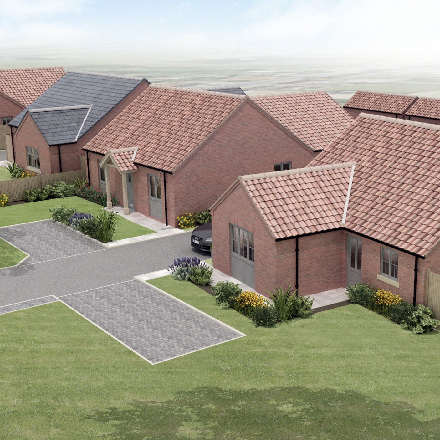 The Finches, Raskelf - A development of 4 charming bungalows in the village of Raskelf.All homes due for completion by early 2020.